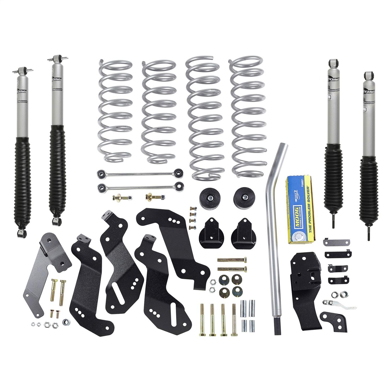 Rubicon Express RE7145M Suspension Lift Kit w/Shocks Fits 07-17 Wrangler (JK)